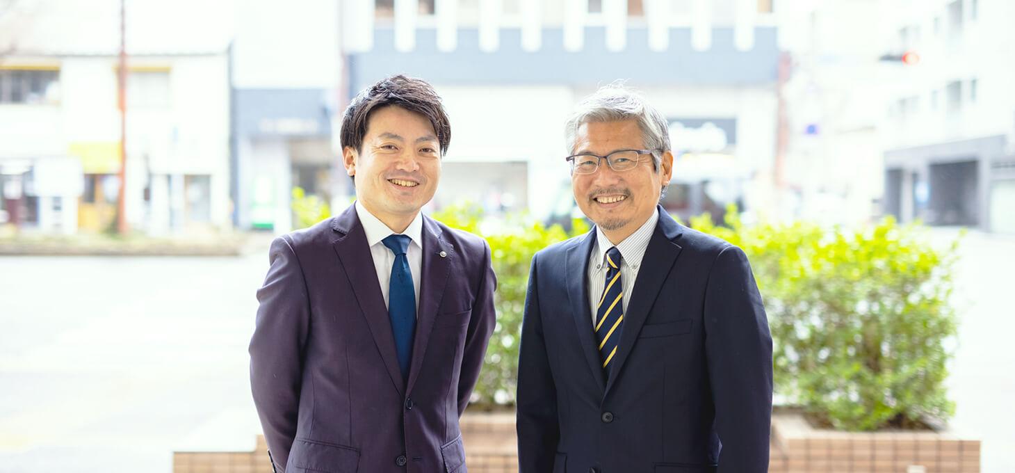 田邉税理士とクライアント1