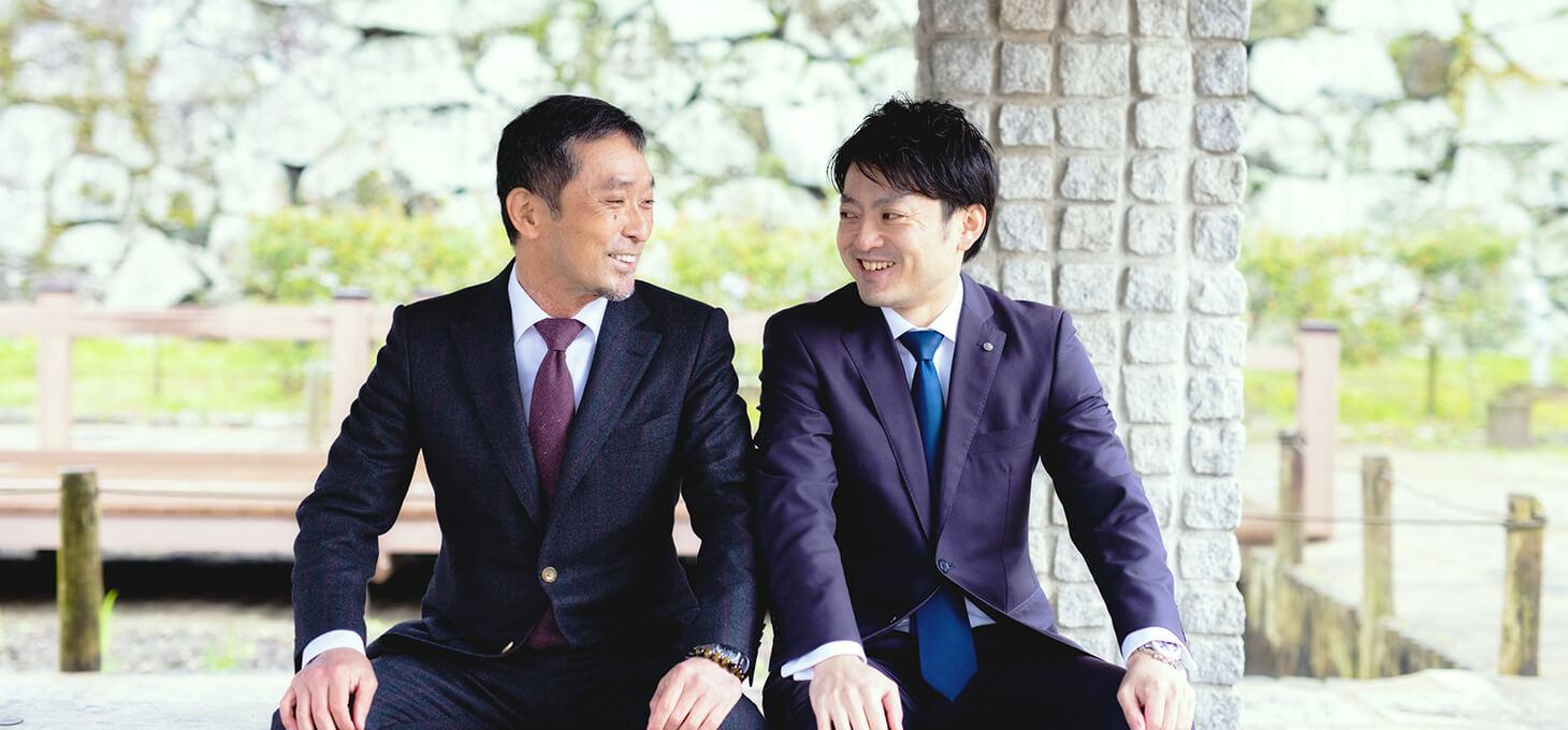 田邉税理士とクライアント2